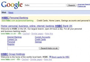 HSBC brand search