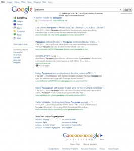 New Google Search Interface 2011